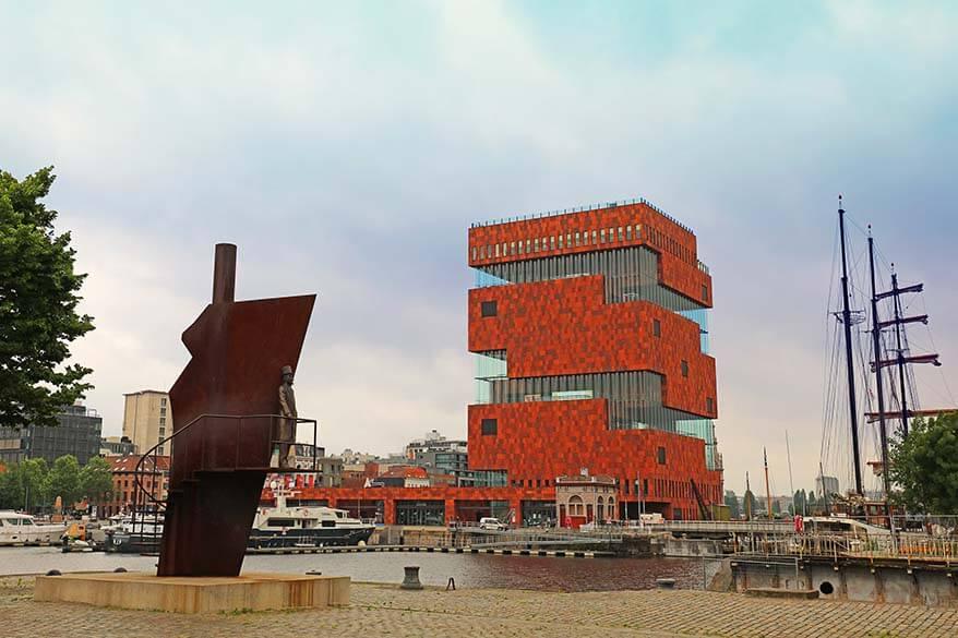MAS museum - one of the best things to see in Antwerp