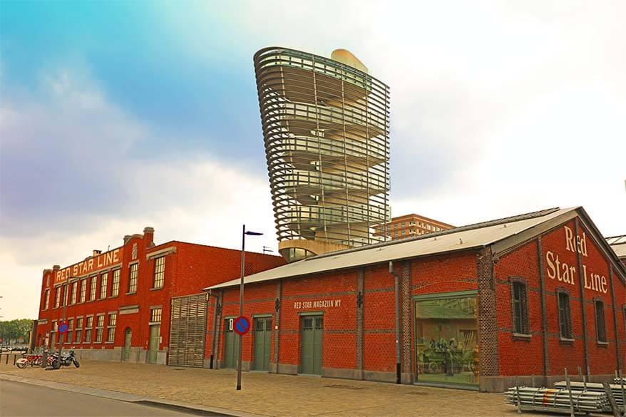 Red Star Line museum in Antwerp