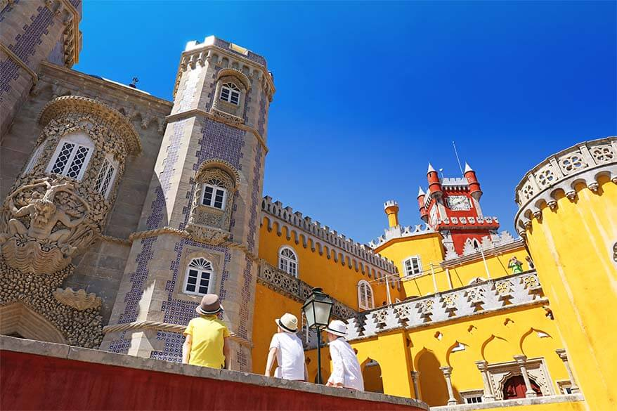 Visiting the fairytale-like Pena Palace is a must