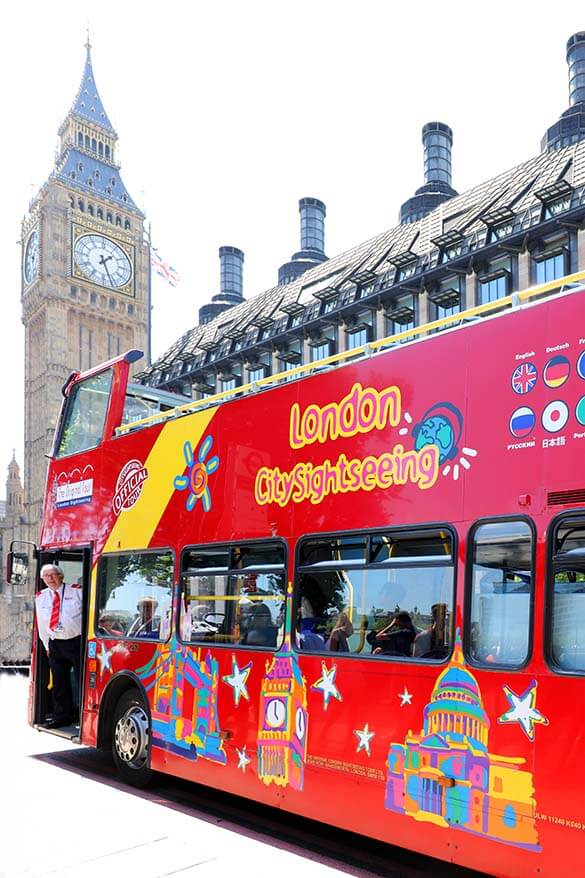 The Original Tour hop-on hop-off bus is a great way to see the best of London with kids