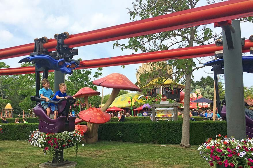 Plopsaland De Panne amusement park in Belgium is great for families with younger kids