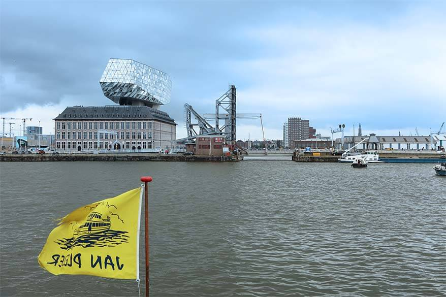Port of Antwerp boat tour is one of the best things to do in Antwerp Belgium