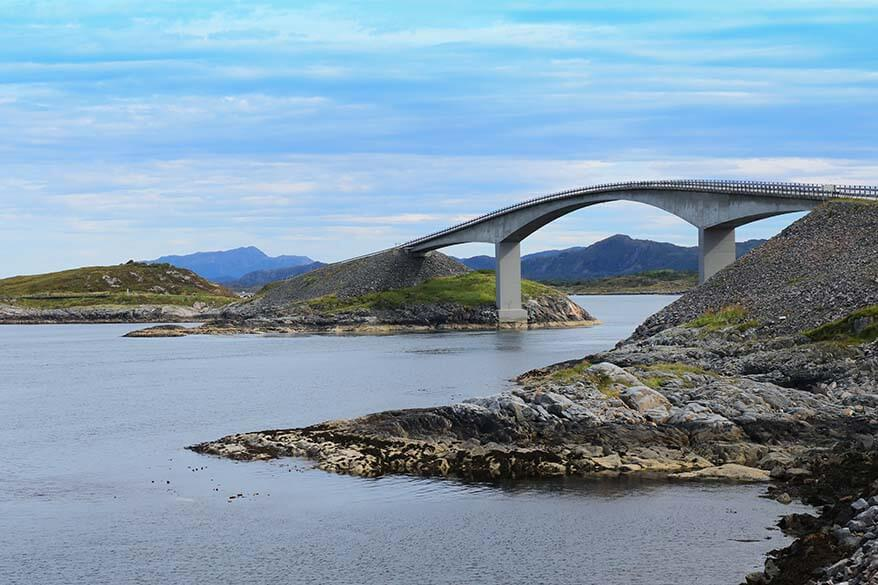 Atlantic Ocean Road Norway