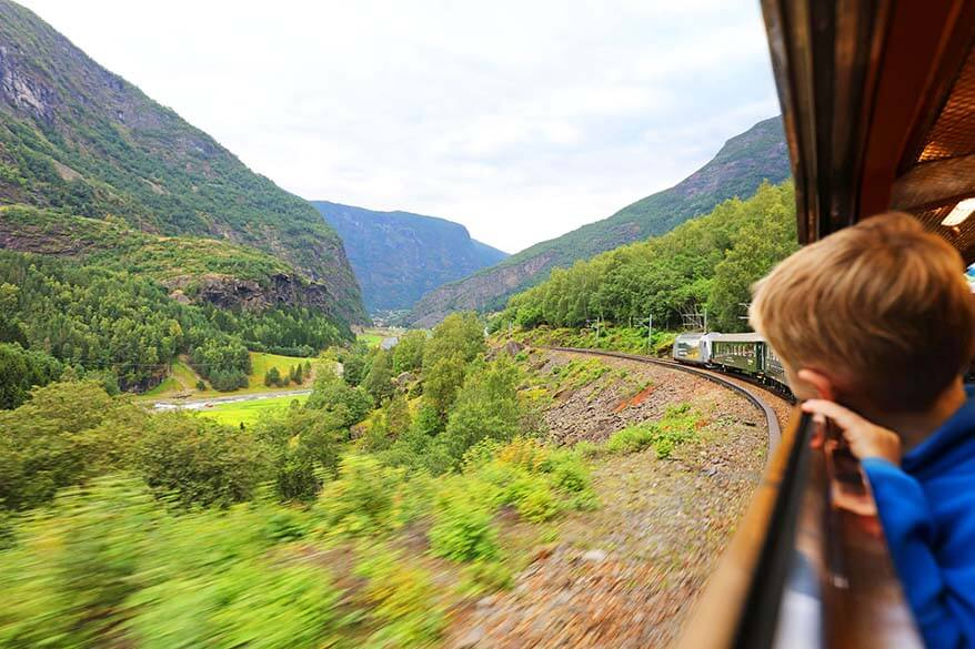 Flamsabana - Flam scenic railway is one of the best things to do in Flam Norway