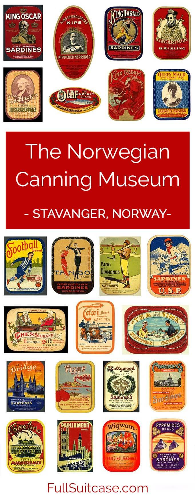 If you visit just one museum in #Stavanger #Norway, make it The Norwegian Canning Museum