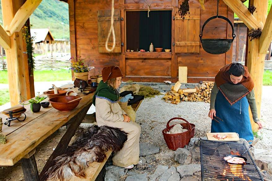 Viking Valley in Gudvangen is not to be missed when visiting Flam