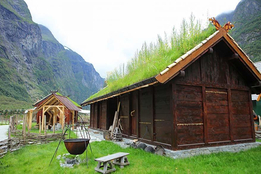 Viking Village Njardarheimr in Gudvagen Norway