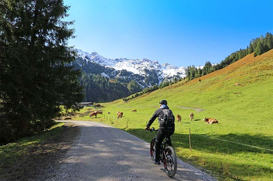 Electric mountain bike tour in Austrian Tyrol
