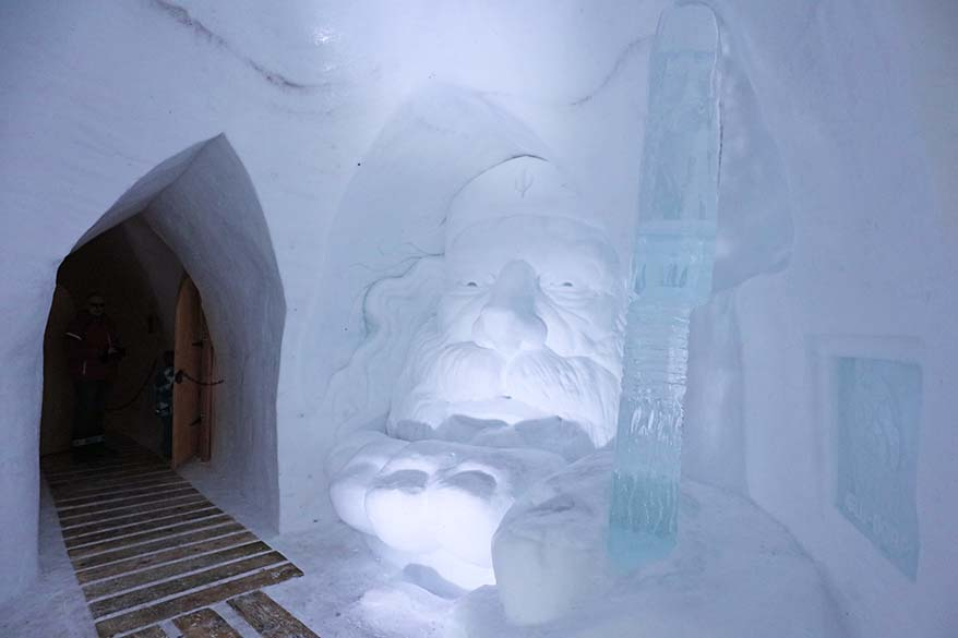 Igloo hotel at Trubsee in Engelberg Switzerland