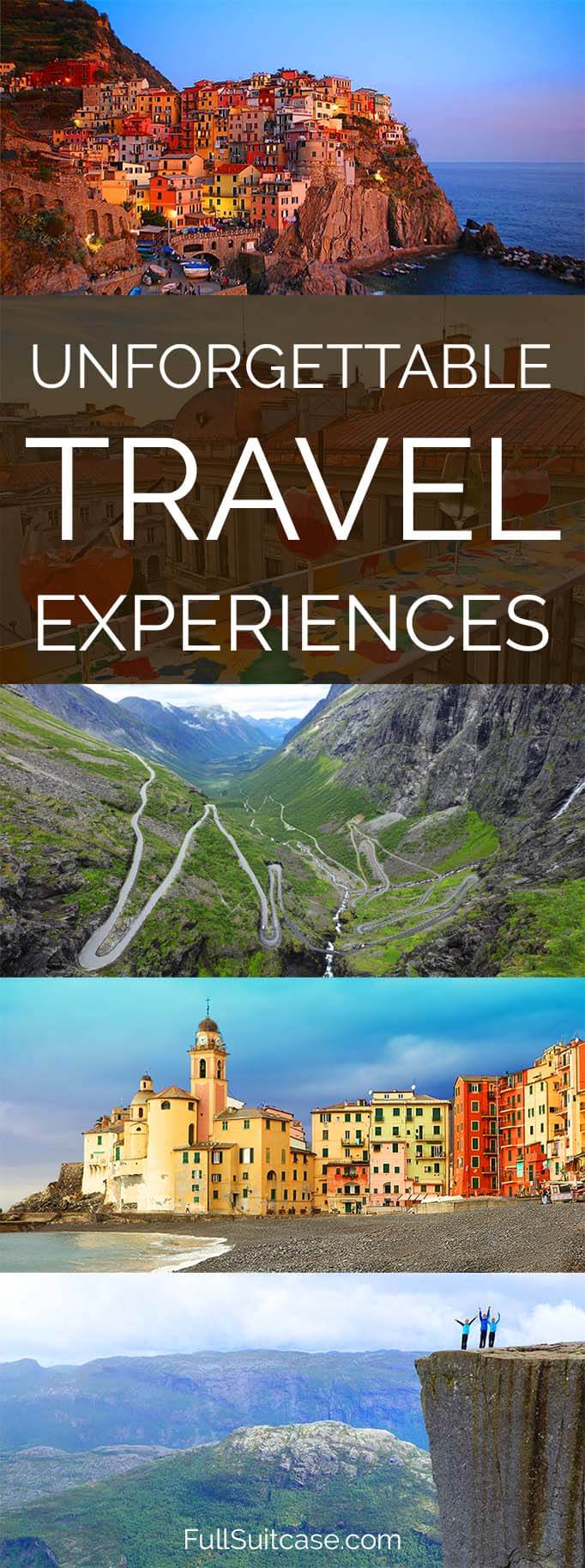 Unforgettable travel experiences - best of the year in #travel #travelinspiration