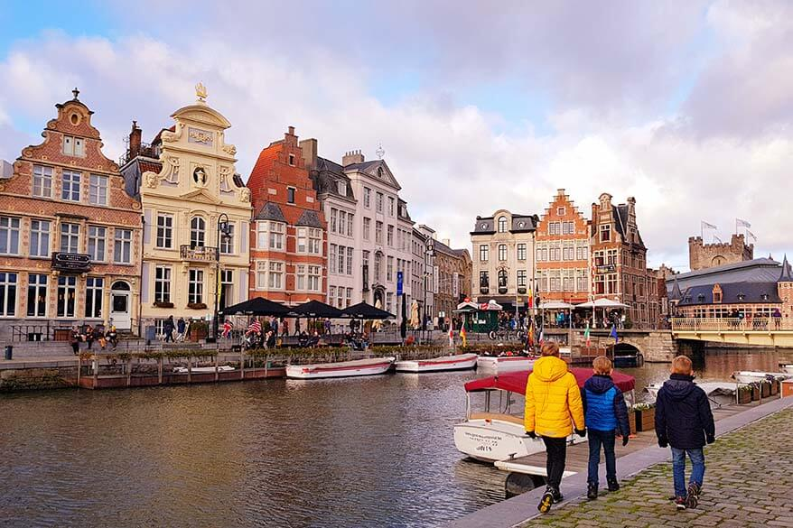 Ghent is one of the most beautiful towns of Belgium