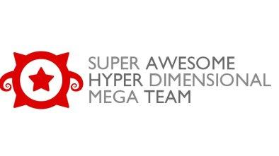 Super Awesome Hyper Simensional Mega Team logo
