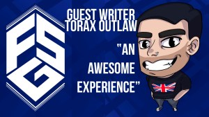 Header image for Torax Outlaw's guest piece on streaming titled an awesome experience