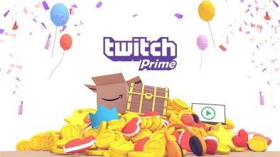 Twitch Prime logo
