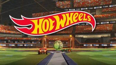 Rocket League Hot Wheels DLC logo