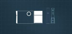 Edifier M3200 Speaker blueprint
