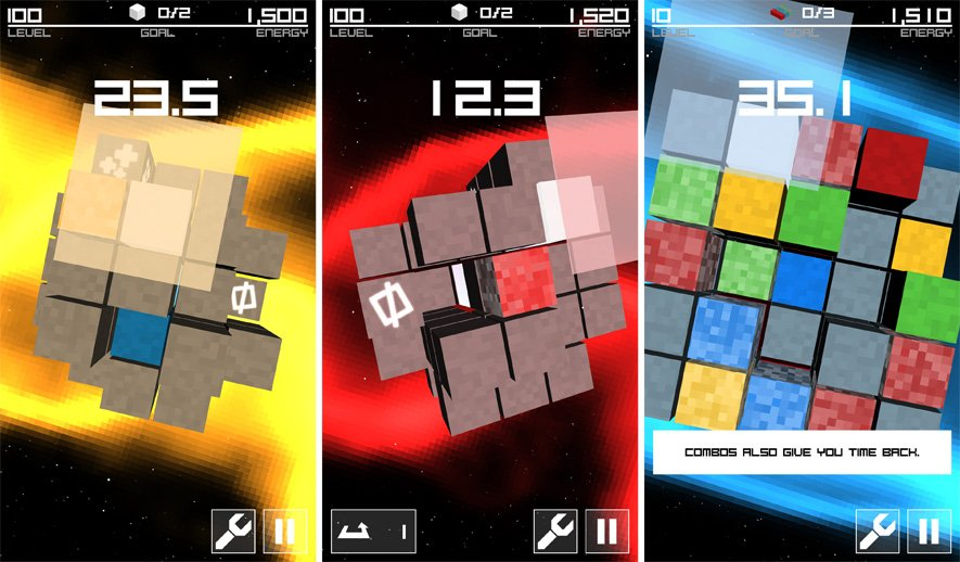 Markus Scheidgen's Cube Orbit gameplay footage