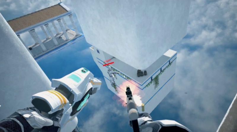 Skyfront VR gameplay