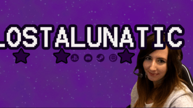 Lustlunatic Twitch Streamer Banner