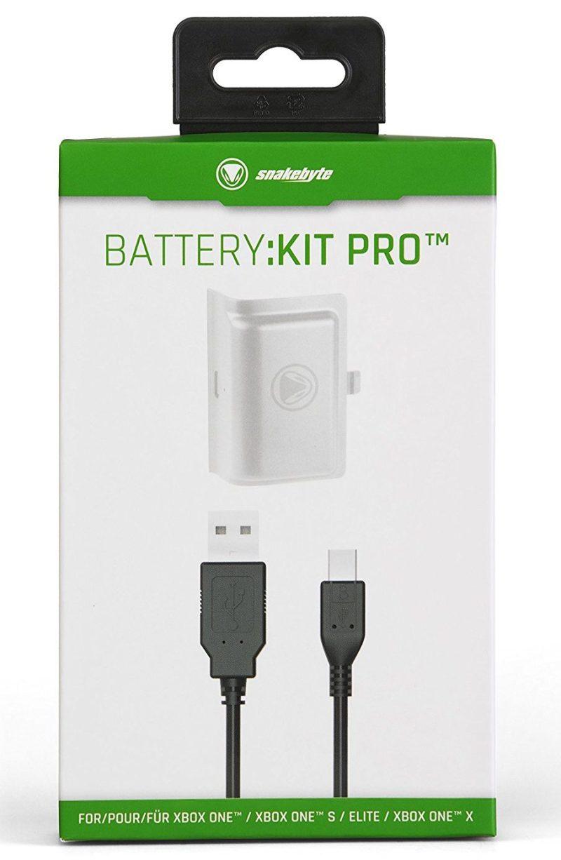 White Snakebyte Xbox One Battery Kit Pro boxed