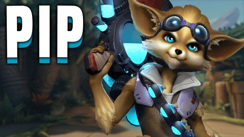 Paladins champion Pip