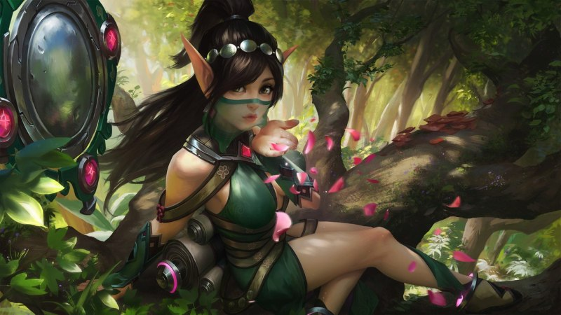 Paladins champion Ying the Blossom