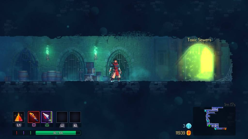 Dead Cells gameplay