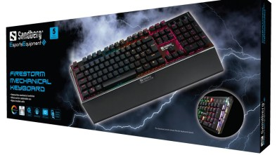 Sandberg FireStorm Keyboard boxed up