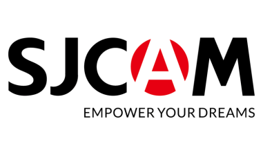 SJCAM logo with Empower Your Dreams slogan