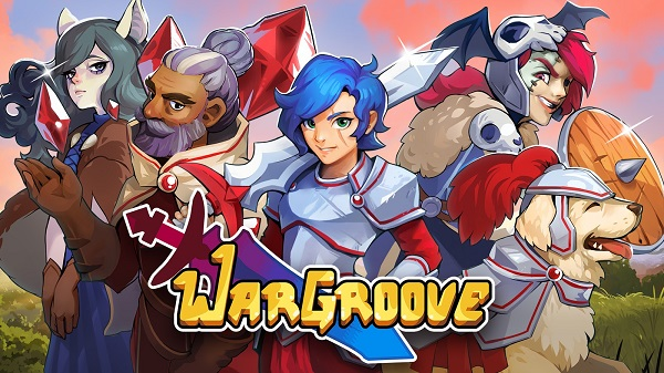 The logo for Wargroove developed by Chucklefish