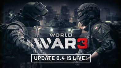 World War 3 update 0.4 logo