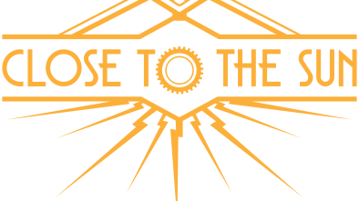 Close to the Sun logo in yellow
