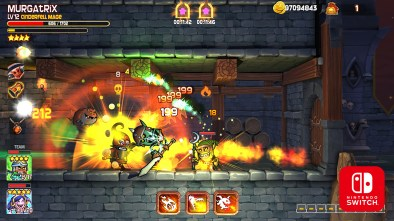 Dungeon Stars gameplay on Nintendo Switch