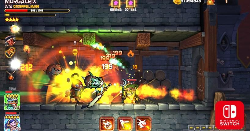 Dungeon Stars gameplay on Nintendo Switch