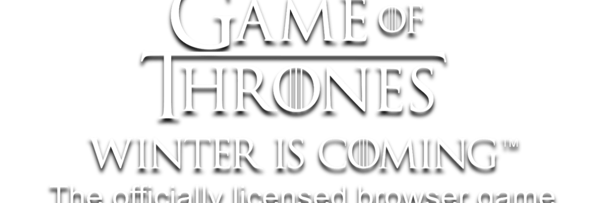 Game of Thrones Winter Is Coming logo