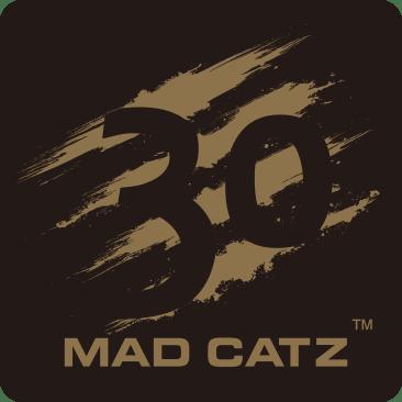Mad Catz 30th anniversary logo celebrating 30 years of gaming innovation