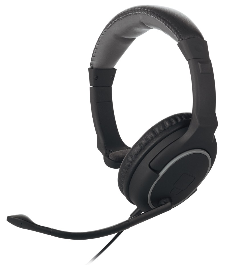 Nighthawk Chat Headset out of box on blank background