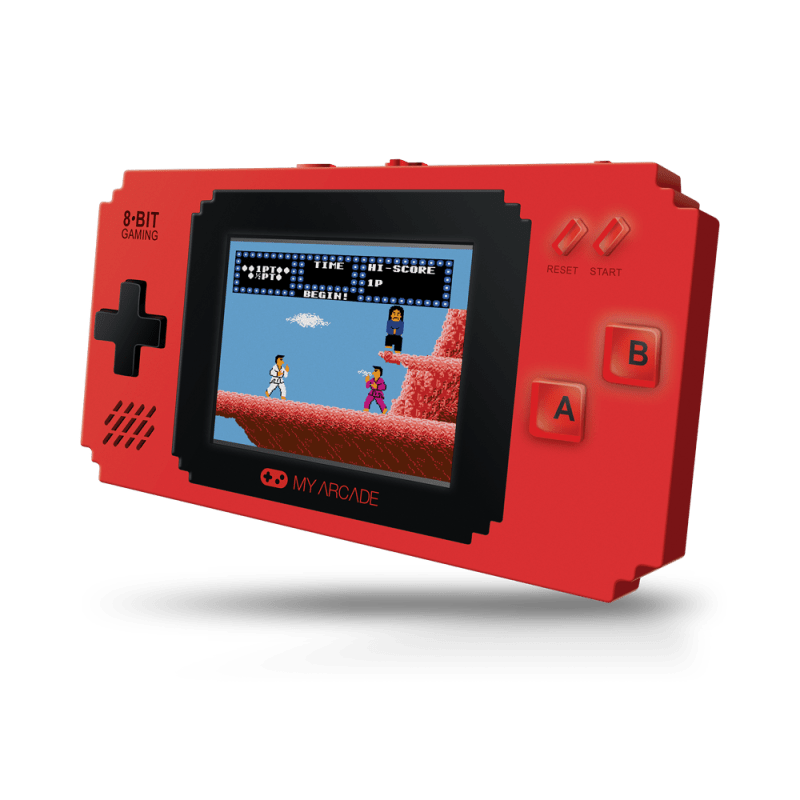 My Arcade Pixel Player in red