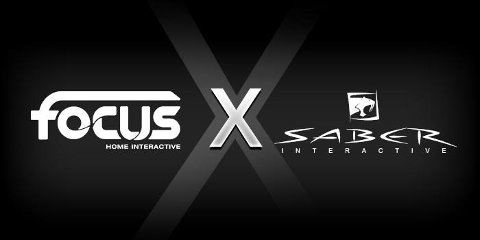 Focus Home Interactive Saber Interactive logos