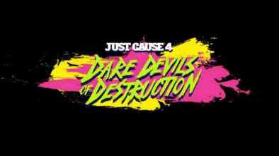 Just Cause 4 Dare Devils of Destruction DLC logo