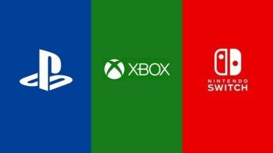 PlayStation Xbox Nintendo logos
