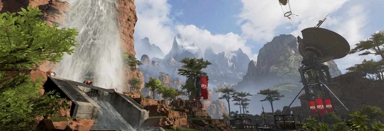 Battle Royale Apex Legends map