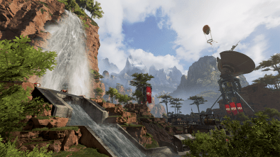 Battle Royale Apex Legends map