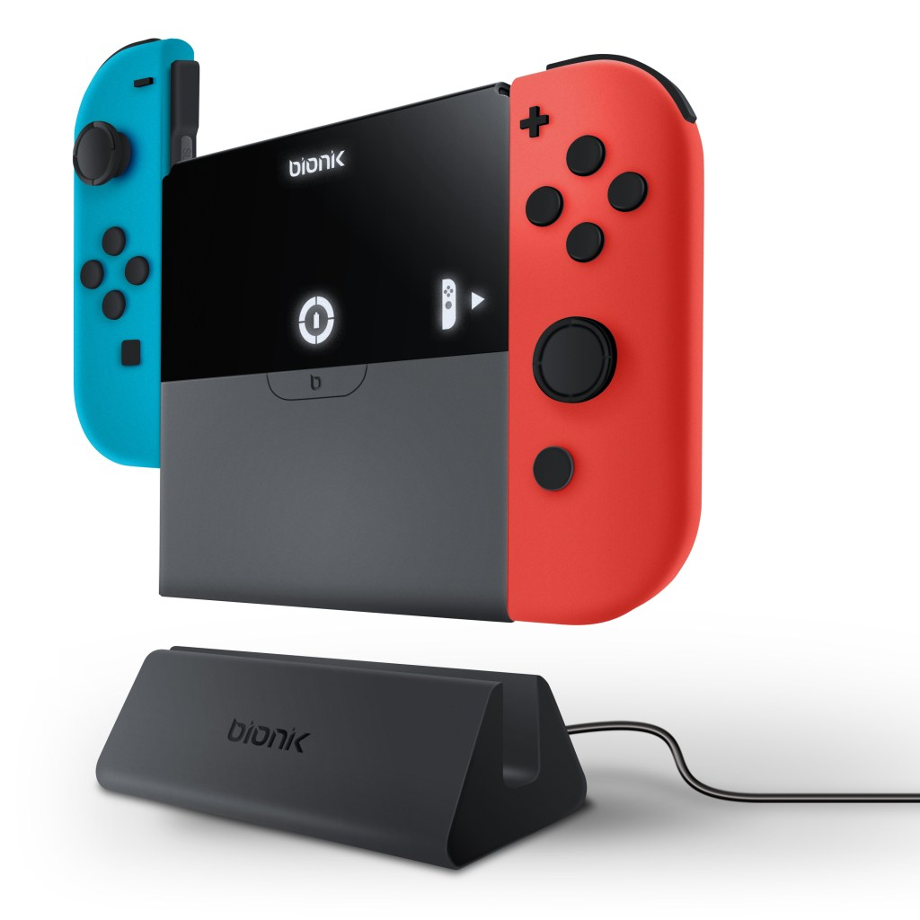 Bionik PowerPlate Connected to the Joy-Con Controllers