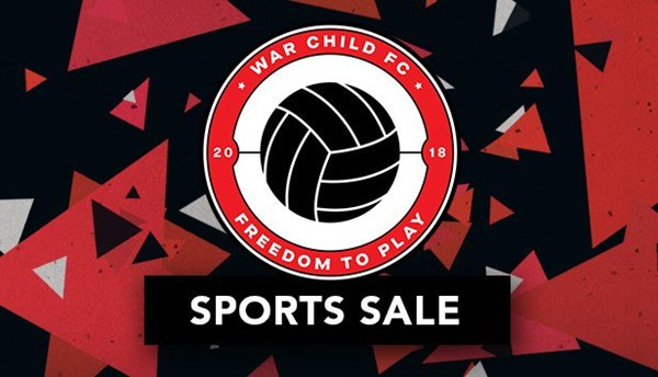 War Child FC's sports sale on Steam logo