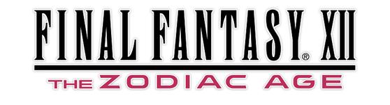 Final Fantasy XII The Zodiac Age logo