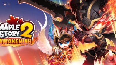 MapleStory 2 Awakening Update Banner