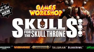 Skulls for the Skull Throne logo