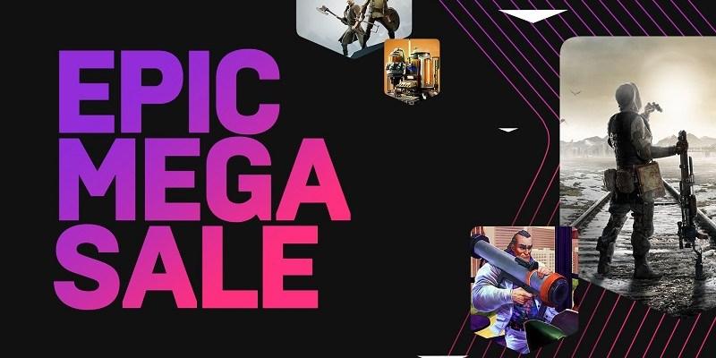 The Epic Mega Sale logo