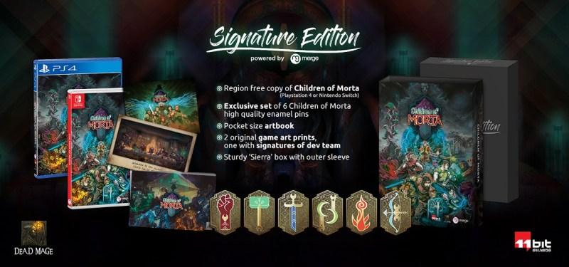 Children of Morta Signature Edition poster